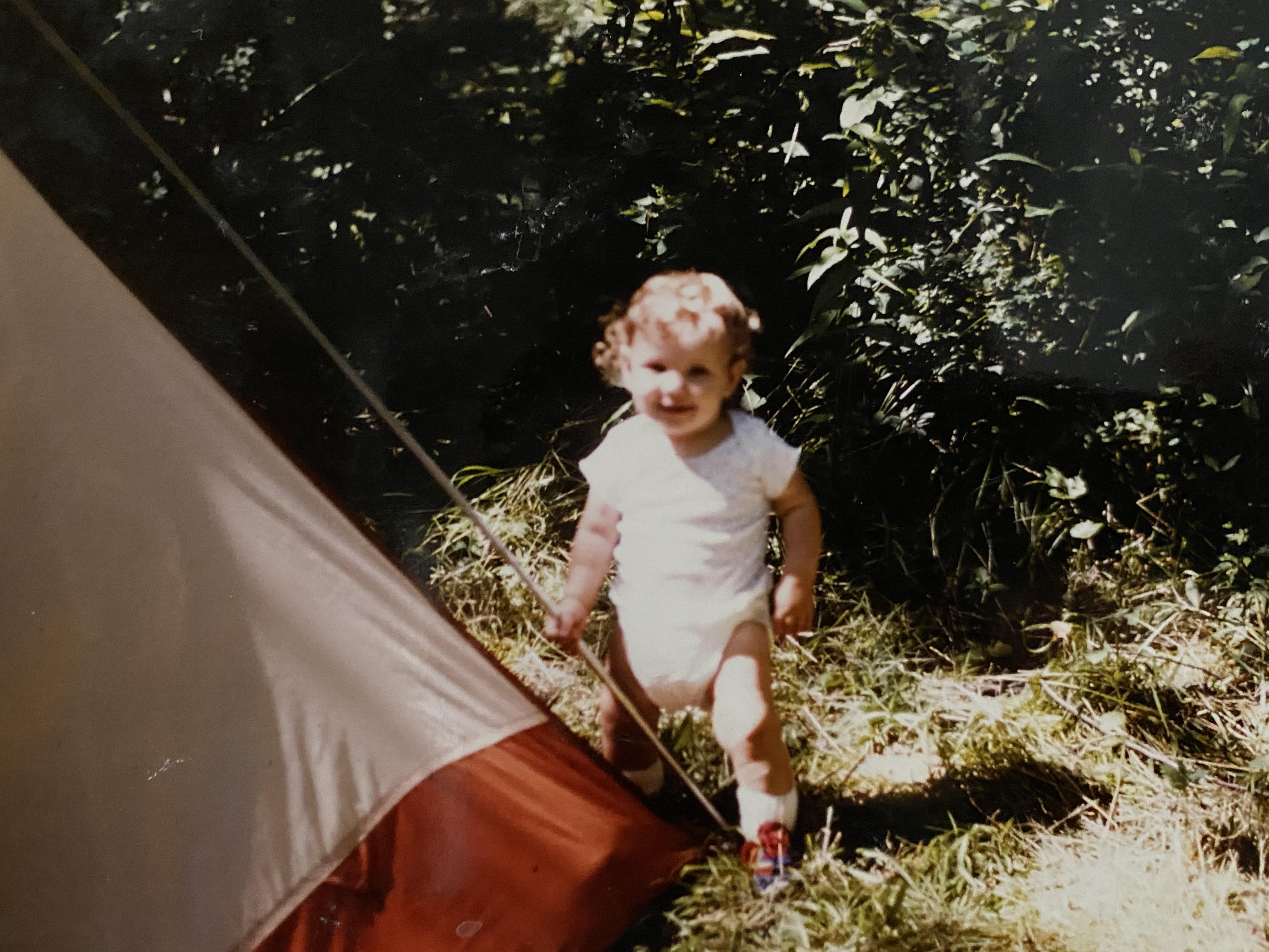 Kate Porter, circa summer 1982